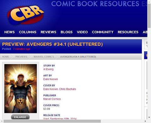 アベンジャーズ #34.1はハイぺリオン回!