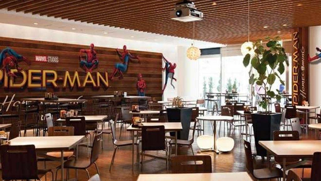 映画「スパイダーマン:ホームカミング」公開を記念した『スパイダーマンカフェ』が六本木ヒルズにて5月29日より開催!