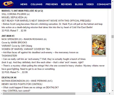 続く映画のハンク・ピムの知られざるストーリー!マーベルズ アントマン・プレリュード #2のプレビュー!