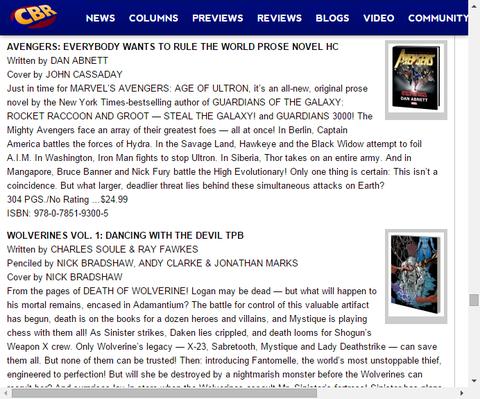 アベンジャーズ:エブリバディ・ウォンツ・トゥ・ルール・ザ・ワールド プローズ・ノベル HCのプレビュー!