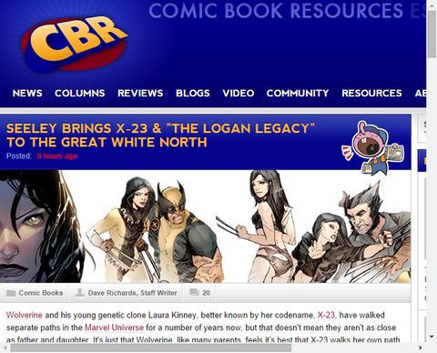 「ローガン・レガシー」のX-23回を務めるティム・シーリーのインタビュー!