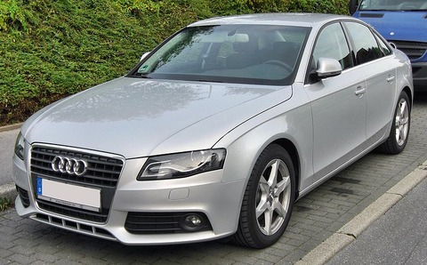 800px-Audi_A4_B8_2_0_TDI_20090906_front