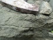 P7040055‗合流箇所近傍の海緑石砂岩