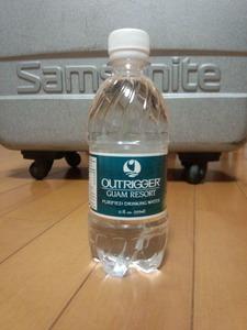 ホテルの水
