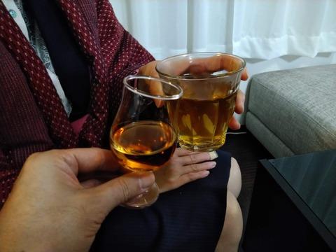 入籍31ヵ月の乾杯