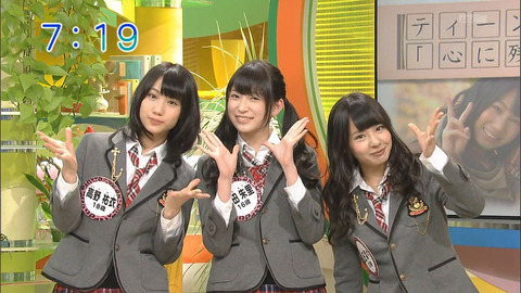 【NMB48】NMBのヴィジュアル3TOPはこの3人であってる?