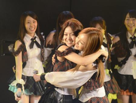 【ニュース/AKB48】大島、宮澤に「くたばったら容赦しない」