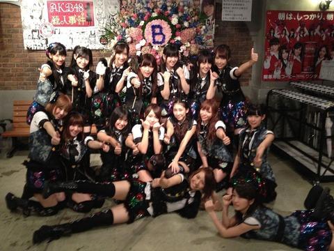 実際、チームBヤバイよな・・【AKB48研究生/峯岸みなみ】