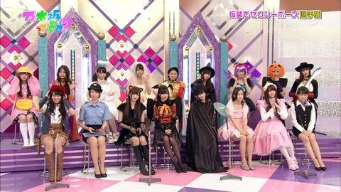 【乃木坂46】ハロウィーン仮装大会のルックスレベル高い件