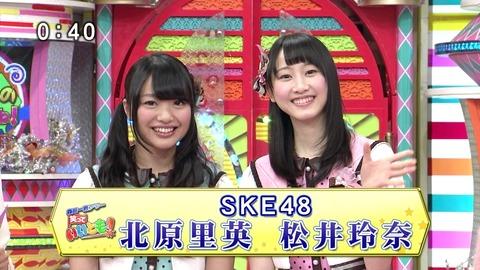 いいとも出演!SKE玲奈&きたりえキャプ画像【SKE48/松井玲奈&北原里英】