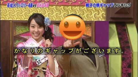 「ぱぱにゃん」藤江れいなの強面パパに応援スレが立つ♪【AKB48/藤江れいな】