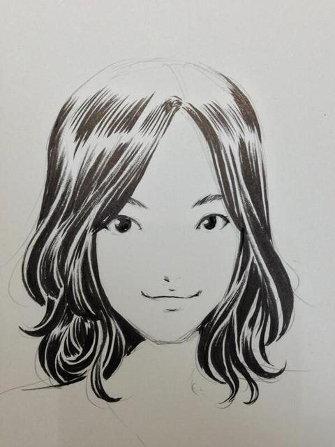 あの有名漫画家が珠理奈のお祝いイラスト書いたよー【松井珠理奈/SKE48兼SKE48】