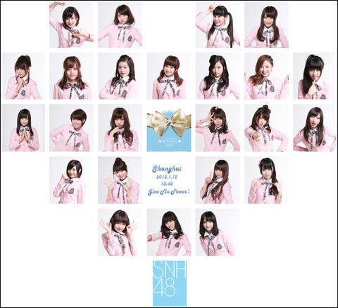 SNH48のルックスが乃木坂レベルだと称賛の声!!【SNH48/Google+】