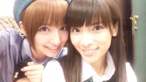 一期生以外で麻里子を呼び捨てする唯一人のメンバー【AKB48/秋元才加&篠田麻里子】