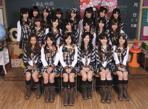 10年桜って良い曲だよな【AKB48G】