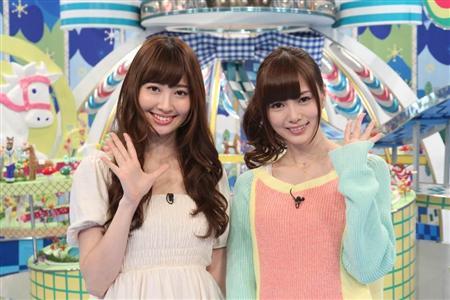 小嶋陽菜(AKB)×白石麻衣(乃木坂)「新番組で46Gのルックス2TOPが共演」【AKB48/乃木坂46】