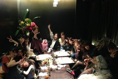 【AKB48】篠田麻里子から大島優子へのメッセージat誕生日会
