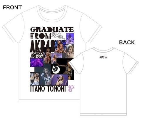 板野卒業記念Tシャツwww【AKB48/板野友美】