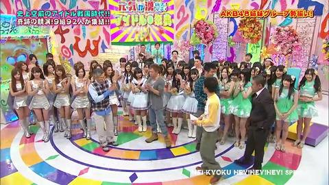 【AKB48G】身長別で揃えてもいいんじゃね?