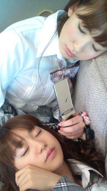 天使の寝顔で癒されましょう♪メンの寝顔画像【AKB48G】
