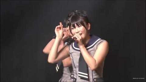 横山チームN公演に登場=加入!!【NMB48/横山由依】