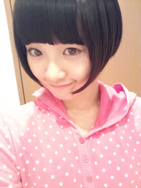 【HKT48/兒玉遥】はるっぴが前髪を作ったら可愛くなった