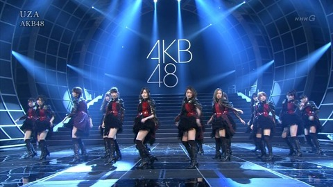 「AKB、UZAのダンスは好評もSKEに圧倒される」紅白2012SP~第2章~【AKB48G】