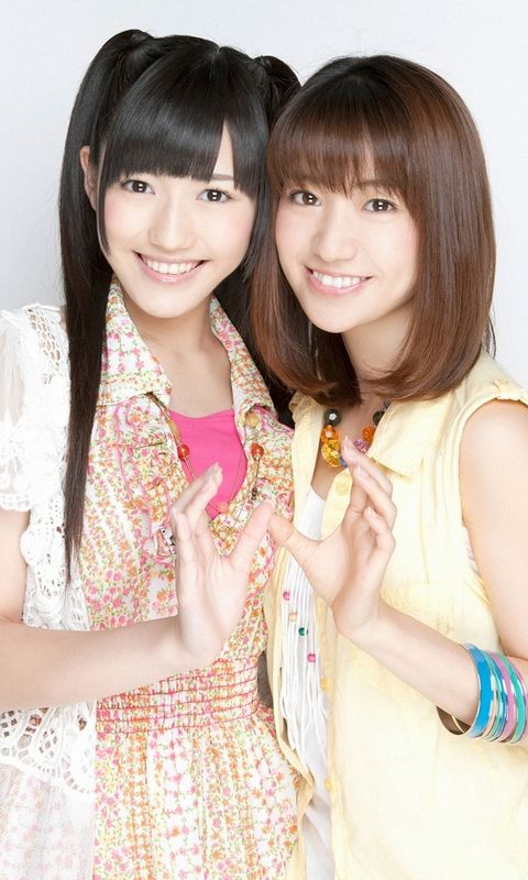 【AKB48/大島優子ω渡辺麻友】おしりシスターズω(^ω^)ω(-∀-`)ω