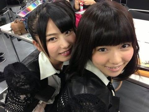 島崎遥香さん出来上がりましたー 【AKB48/島崎遥香&横山由依】
