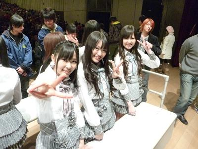 【AKB48G】初めて生でメンバーを見た時の感想