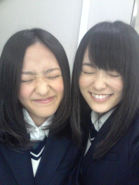 魚眼レンズ美人♪【NMB48/小谷里歩、山本彩&小笠原茉由】