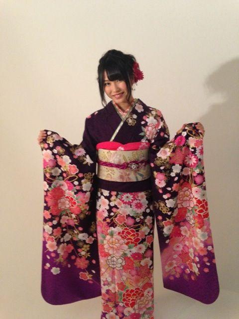 やっぱり和服が似合うゆいちゃん♪FLASH新成人グラビアにて【AKB48/横山由依】