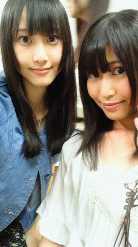 【超朗報】お気に入りの茉夏を愛でる玲奈が可愛い【SKE48/松井玲奈】