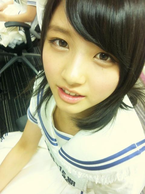 【画像あり】15期生の大和田南那が神レベルの可愛さ