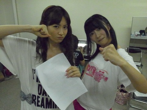 「小嶋さんより指原さんになりたい」。後輩メンバーの多数意見にAKB48こじはるがショック。 【小嶋陽菜&指原莉乃/AKB48&HKT48】】