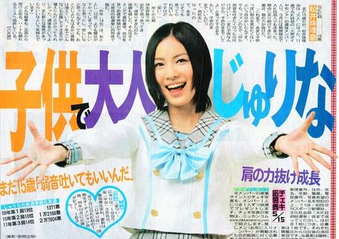 珠理奈「15才です」MC「えー!?」【SKE48、AKB48兼任/松井珠理奈】