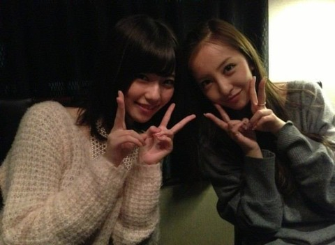5期以上離れてても仲のいい組み合わせ♪♪♪【AKB48G】