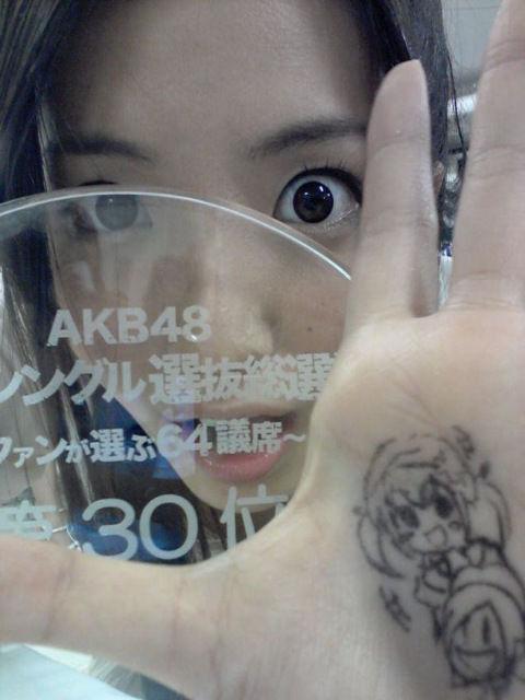 【SKE48/古川愛李】古川画伯の絵とか※笑顔の花
