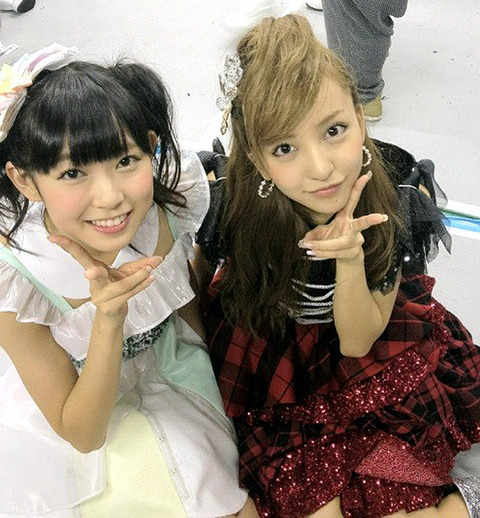 【AKB48G】ちんみるきー♪(AKB48板野友美×NMB48渡辺美優紀)