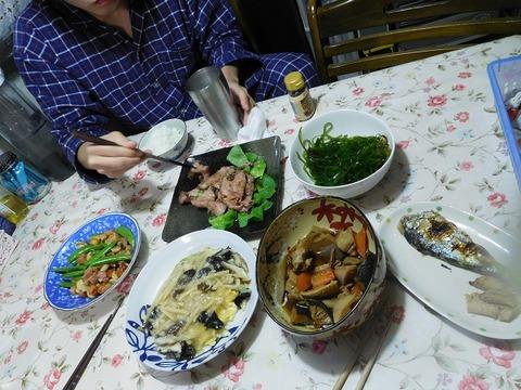 3月29日の夕食