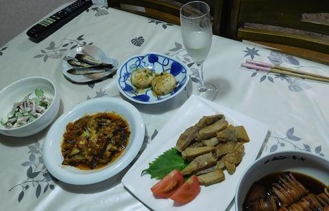 9月8日の夕食