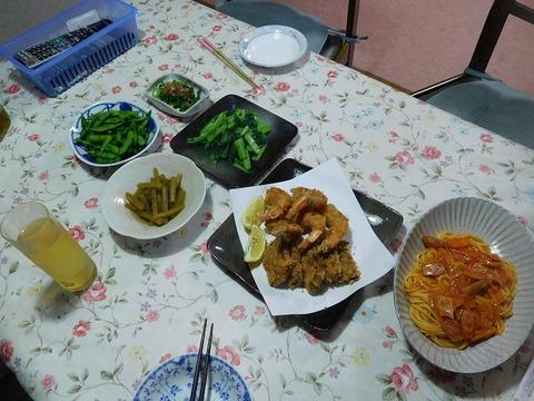 6月26日の夕食
