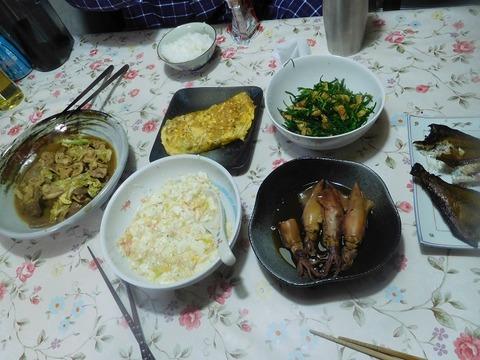 5月8日の夕食