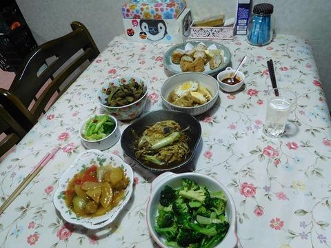 10月27日の夕食