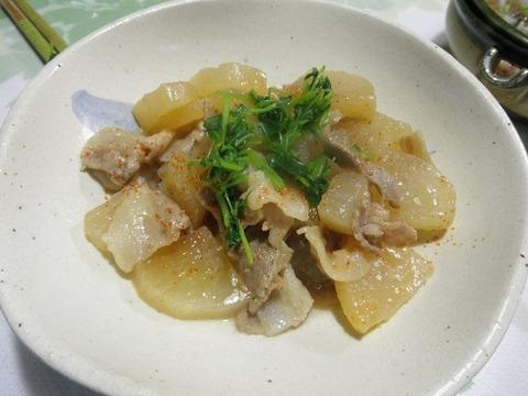 豚肉と大根の味噌煮