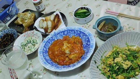 9月22日の夕食