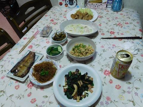 10月26日の夕食