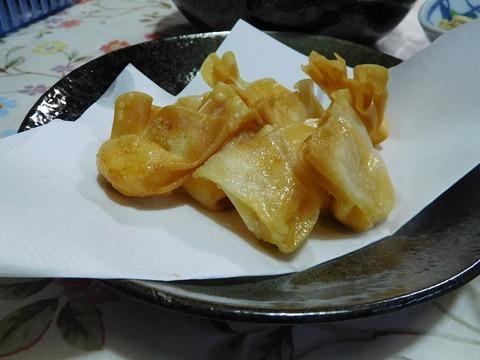 チーズ明太ワンタン