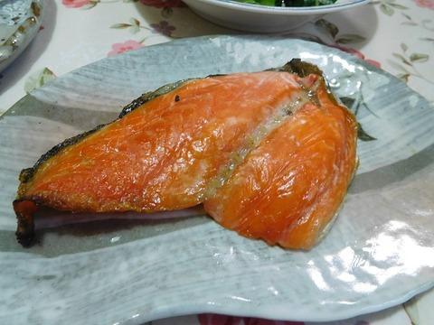 生鮭塩焼き