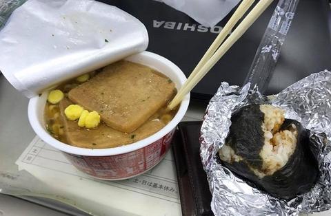 1月28日の昼食